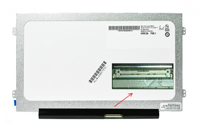 "Дисплей 10.1"" AUO B101AW06 V.1 (Slim LED,1024*600,40pin)"