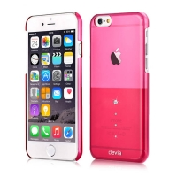 Чехол Devia для iPhone 6/6S Crystal Unique Rose Pink