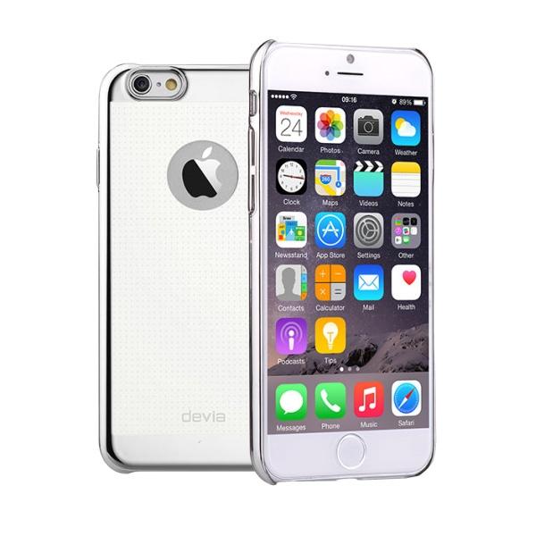 Чехол Devia для iPhone 6/6S Star Silver