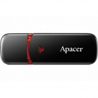 USB накопитель Apacer AH333 64GB Black