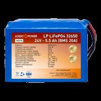 Аккумулятор LogicPower Lifepo4 24V-5.5Ah (BMS 20A)