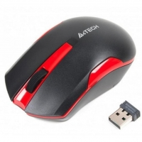 Мышь A4Tech G3-200N Wireless Black/Red
