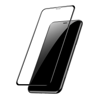 Защитное cтекло Baseus для iPhone Xr, iPhone 11, 0.2mm, Черный