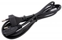 Сетевой кабель для адаптера питания ноутбука, евро , 2-hole, 1.2 м.