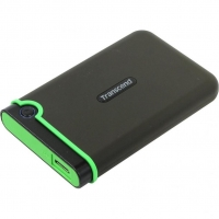 Внешний HDD Transcend StoreJet 1TB USB3.0 Black/Green