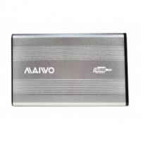 "Карман Maiwo для HDD 2.5"" SATA USB 2.0 Silver"