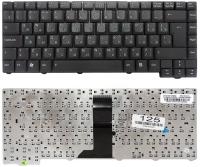Клавиатура Asus F2 F3 F3J F3JC F3JM F3T F5 T11, черная 28pin
