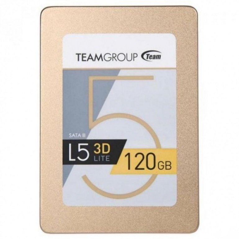 "Накопитель SSD Team L5 Lite 3D Gold 2.5"" 120GB SATA III TLC"