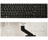 Клавиатура для ноутбука Gateway NV55 NV57 Packard Bell TS11 LS11 F4211 черная без рамки Прямой Enter