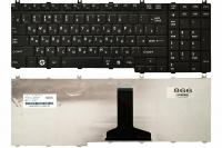 Клавиатура для ноутбука Toshiba Satellite A500 A505 F501 L350 L355 L500 L505 L583 L586 P500 P505 черная
