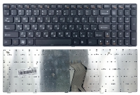 Клавиатура для ноутбука Lenovo IdeaPad B570 B580 B590 B575 G570 V570 Z560 Z565 Z570 V580 G770 черная