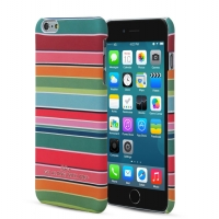 Чехол ARU для iPhone 6 Plus/6S Plus Stripes Rainbow