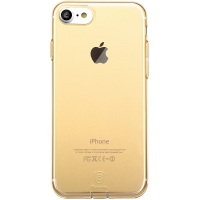Чехол Baseus для iPhone 8/7 Simple Pluggy Gold