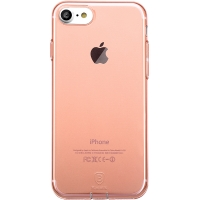 Чехол Baseus для iPhone 8/7 Simple Pluggy Rose Gold
