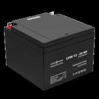 Аккумулятор LogicPower AGM LPM 12-26 AH