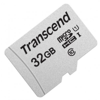 Карта памяти Transcend microSDHC 300S 32GB UHS-I U1