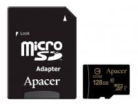 Карта памяти Apacer microSDHC 128GB Class 10 UHS-1 + SD-адаптер