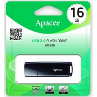 USB накопитель Apacer AH336 16GB Black