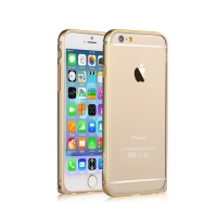 Бампер Devia для iPhone 6/6S Buckle Curve Champagne Gold