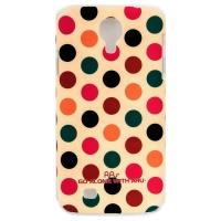 Чехол ARU для Samsung Galaxy S4 Cutie Dots Coffee