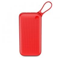 Внешний Aккумулятор Baseus Poweful QC 3.0 Type-C PD 20000mAh Красный