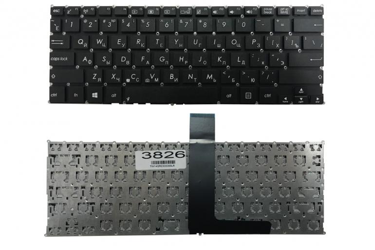 Клавиатура для ноутбука Asus F200 F200CA F200LA X200 X200C X200CA X200L X200M R202 черная без рамки Прямой Enter