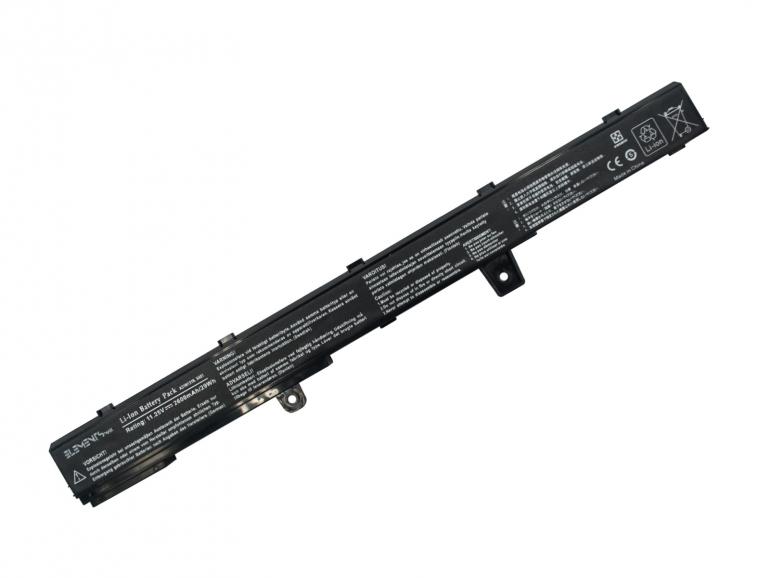 Батарея Elements MAX для Asus X451 X551 Vivobook D450, D550 11.25V 2600mAh
