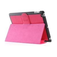 Чехол iCarer для iPad 2/3/4  Genuine Leather Pink