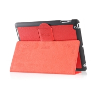 Чехол iCarer для iPad 2/3/4  Genuine Leather Red