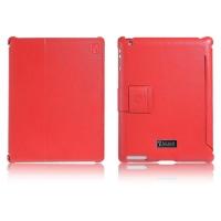 Чехол iCarer для iPad 2/3/4  Honourable Red