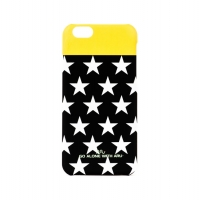 Чехол ARU для iPhone 6/6S Stars Mix & Match Black