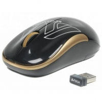 Мышь A4Tech G3-300N Wireless Black/Golden