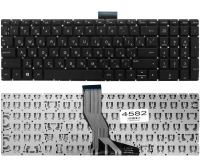 Клавиатура HP Pavilion 15-ab 15-ak 15-ar 15-aw 15-bc 15-bk 17-ab Envy m6-ar 15-bs 15-ra 250 G6, черная без рамки