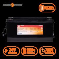 Аккумулятор LogicPower Lifepo4 24V-90Ah (BMS 80A) пластик