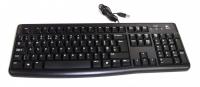 Клавиатура Logitech K120 USB Black