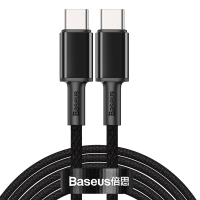 Кабель Baseus High Density Braided Type-C to Type-C 100W 2M Черный