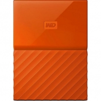 Внешний HDD Western Digital My Passport 1TB USB 3.0 Orange