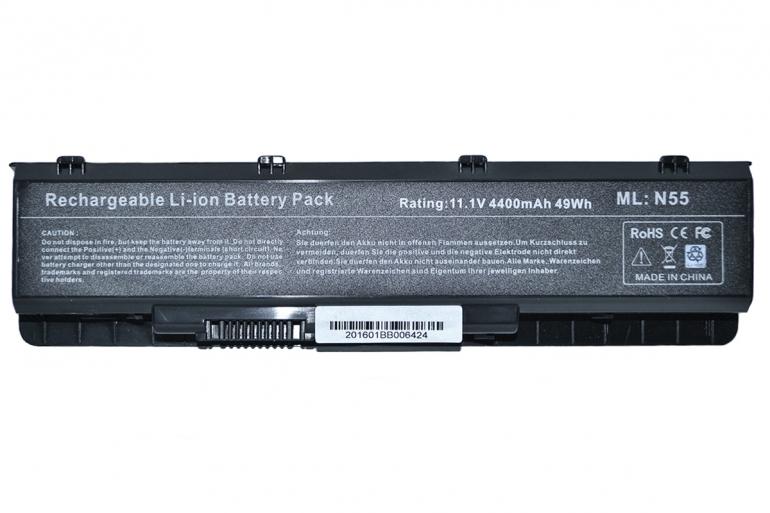 Батарея для ноутбука Asus N55 11.1V 4400mAh