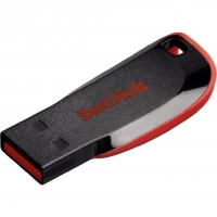 USB накопитель SanDisk Cruzer Blade 64GB Black/Red