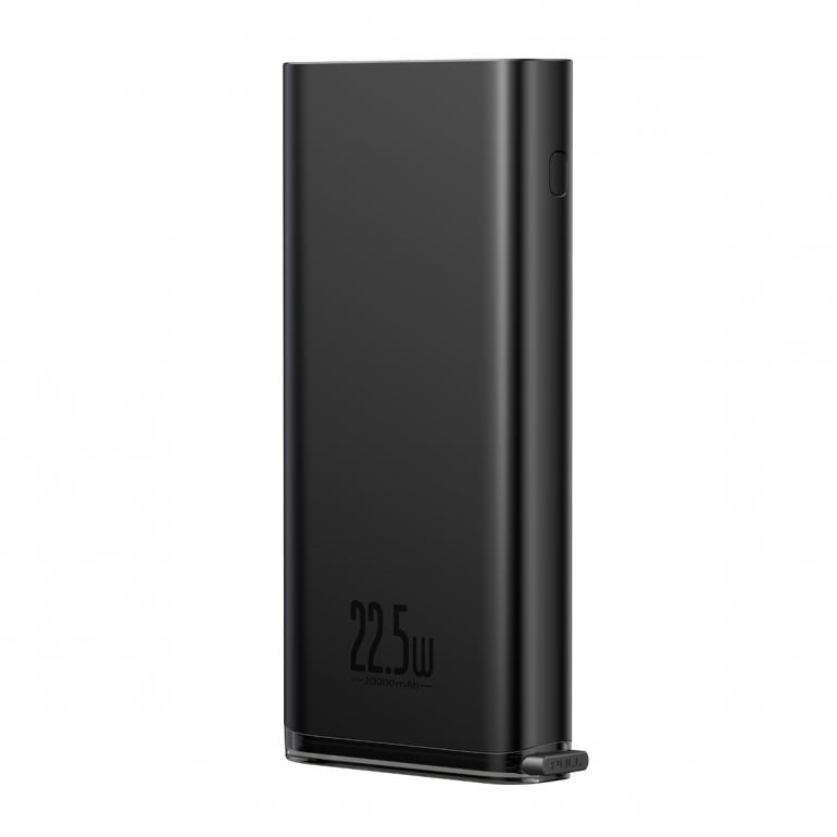 Внешний аккумулятор Baseus Starlight Digital Display 20000mAh 22.5W Черный
