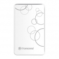 Внешний HDD Transcend StoreJet 2TB USB3.0 White
