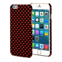Чехол ARU для iPhone 6 Plus/6S Plus Hearts Dark Blue