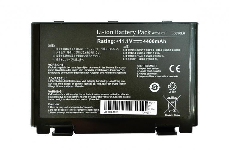 Батарея для ноутбука Asus F52 F82 K40 K50 K51 K60 K61 K70 X87 11.1V 4400mAh