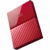 Внешний HDD Western Digital My Passport 2TB USB 3.0 Red