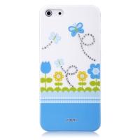 Чехол Vouni для iPhone 5/5S/5SE Swarovski Blue