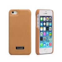 Чехол iCarer для iPhone 5/5S/5SE  Luxury Brown