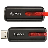 USB накопитель Apacer AH326 16GB Black