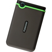 Внешний HDD Transcend StoreJet 2TB USB 3.0 Iron Gray