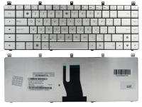 Клавиатура для ноутбука Asus A45 K45 A85 A85V R400 K45VD A45VM R400V N46 P45 серая