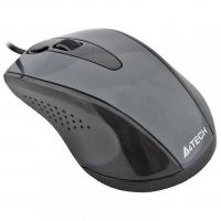 Мышь A4Tech N-500F USB Glossy Grey